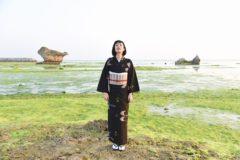 久米島紬の染め織り体験