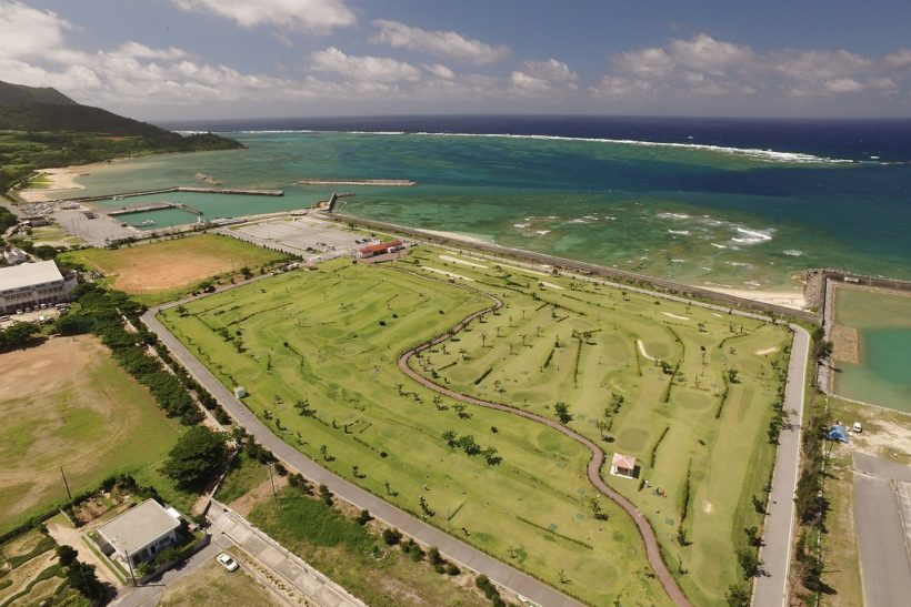 海一望のパークゴルフ 1