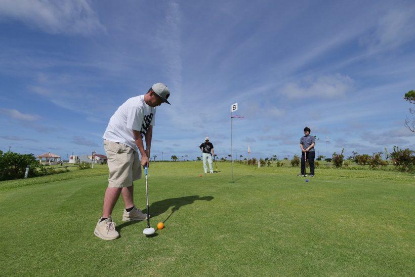 海一望のパークゴルフ 2