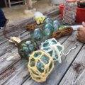 海からの贈り物「浮球づくり」 2