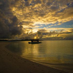 ハテの浜サンセット